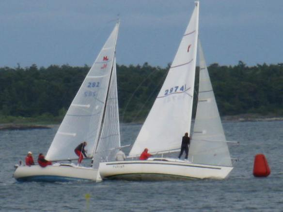 Sailing Practice, Cattle Point - Victoria