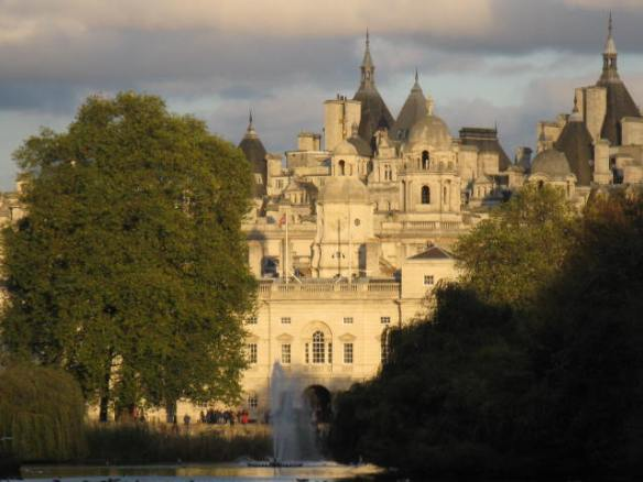 From St. James Park, London