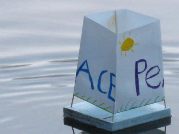 Floating Peace Lantern