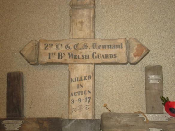 In a London church basement