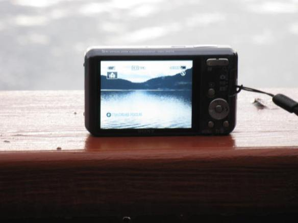 Picture of a picture of Maple Bay, BC